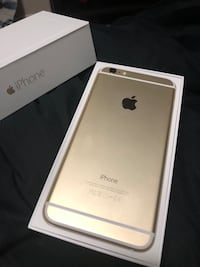 Gold iPhone 6 Plus 16gb with box (Fido) Ottawa, K2V 0A6