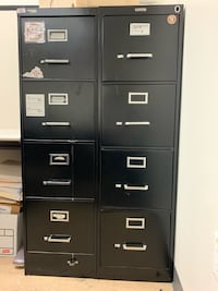 4 Drawer filing cabinet (2 cabinets) $40 each Fairfax, 22030