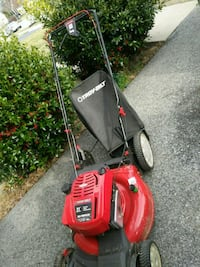 red and black Troy-Bilt push mower Clinton, 20735