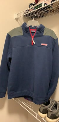 blue and red Nike zip-up jacket Waco