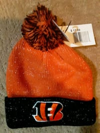 Bengals winter hats nwto $10.00 each