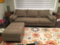 Mid century style couch and ottoman  Lake Forest Park, 98155