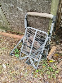 white steel frame Toccoa, 30577
