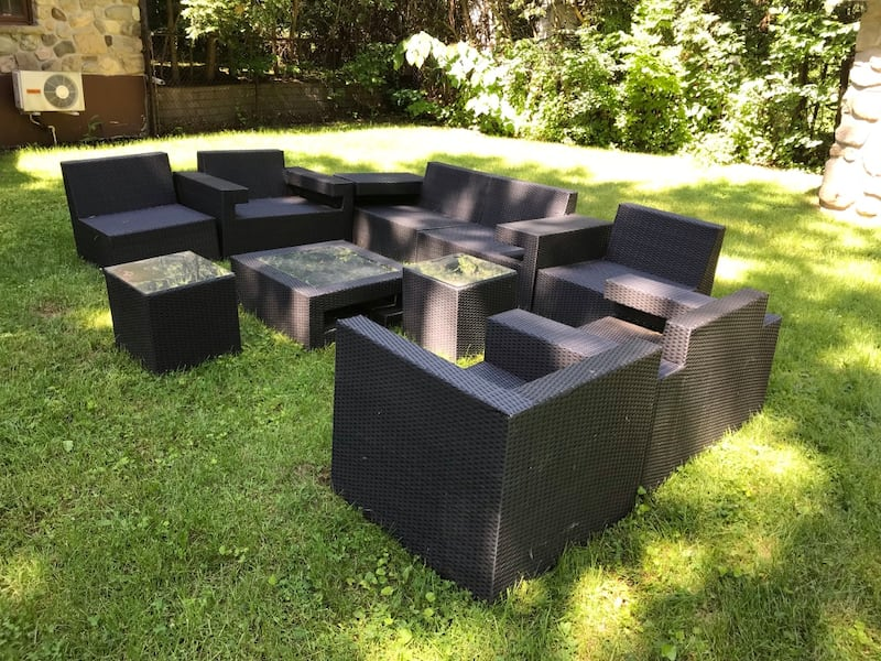 Outdoor seating (sectional) 10 pieces 470c3f47-ee5e-42d5-a03c-c57d20c3ad43