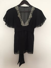 New Womens black top size small Deer Park, 11729