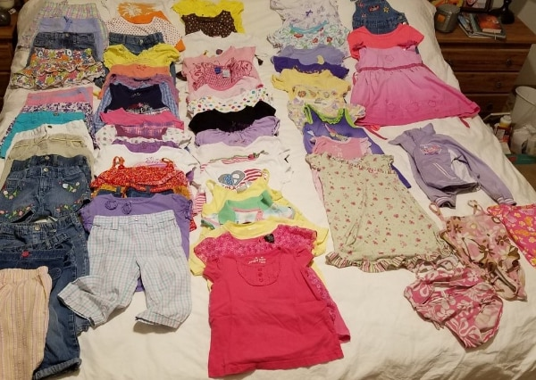 Photo Girls 4t summer clothes