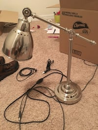 stainless steel desk lamp