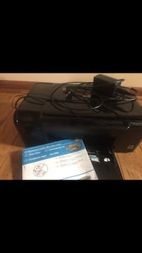 HP all in one printer works great Orange, 22960