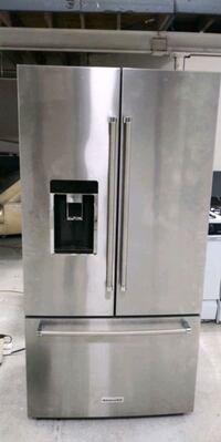"36"" French door counter depth refrigerator"