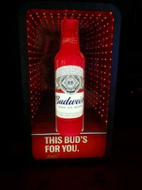 Budweiser red and white labeled bottle Lakewood, 90715