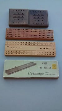 Cribbage items vintage Perris, 92570