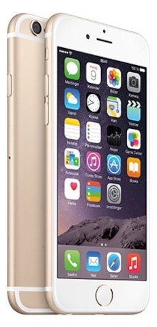 iPhone 6 gull selges - 64gb