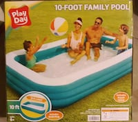 Brand new Play Day Pool 10ft