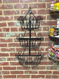 Black metallic 3 tier kitchen shelve 41 km