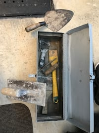 tool box  that comes with  a few cement tools