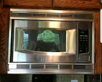 stainless steel GE microwave oven Union, 07083
