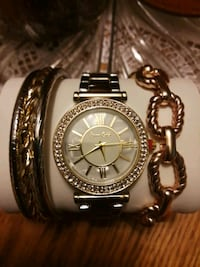 Beautiful watch & bracelets - BN Hamilton