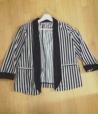 black and white stripes blazer Longueuil