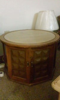 Wooden with Marble Top intable  Billings, 59101