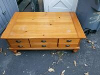 coffee table with drawers50x30x19''hight Long Beach, 90810