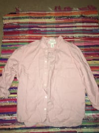 white button-up long-sleeved shirt 1154 mi
