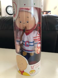 Caillou Hockey Doll / With Stand
