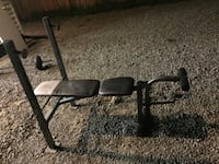 black flat bench press and weights  Bealeton, 22712