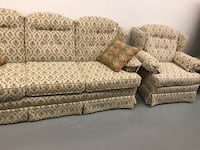 Matching couch and chair set 54 mi