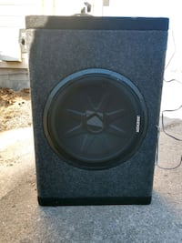 black Kicker subwoofer with enclosure Ames, 50010
