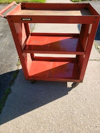 3 Tier Waterloo Tool Cart shelf on wheels Pickering, L1X 2C7