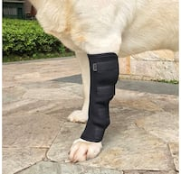 Dog Canine Rear Leg Knee Brace Hock Joint Arthritis Wrap for Heals and Prevents Injuries and Sprains Helps with Loss of Stability Monterey Park, 91754