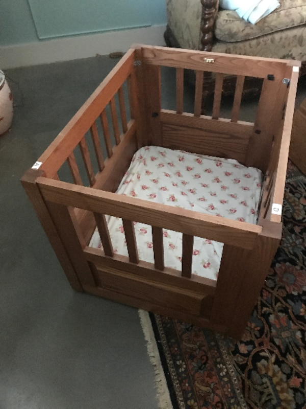 Wood Dog Crate