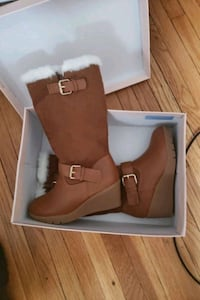 New girls boots