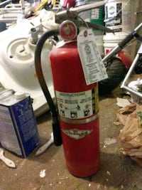 10lb Fire Extinguisher Recent Tag Los Angeles, 90017