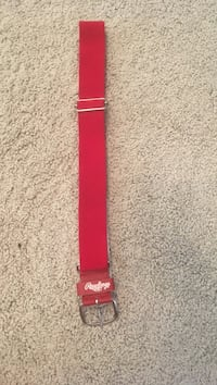 Red Rawlings baseball/softball belt