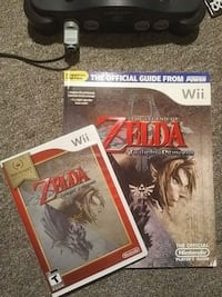 Zelda Wii Twilight Princess Game and Guide Toronto, M5S