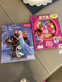 Two disney frozen character toys Sweetwater, 33172