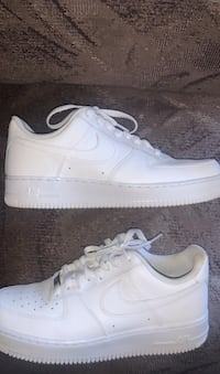White Air forces ones