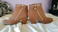 Booties size 6.5 Brand New without box Orange, 92865