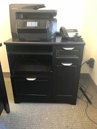 Office desk and printer stand.  Like new  Las Vegas, 89119