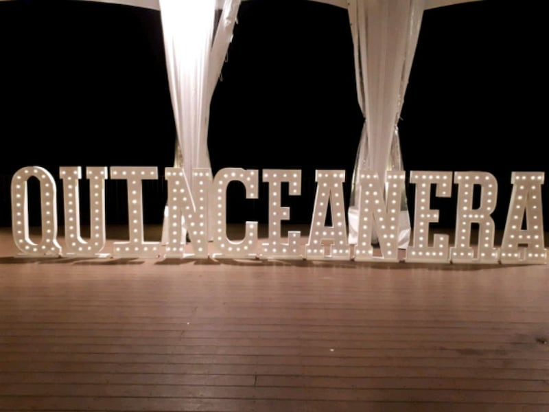 MARQUEE Letters & Numbers 4ft tall$50 ea. rental  c2dab828-6527-4f4c-a415-0994605ecb7b