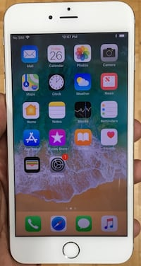 128GB Factory Unlocked iPhone 6s Plus(6s+) - White/Silver  New York, 10018