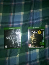Xbox One Fallout 76 and Skyrim game  Pahrump, 89048