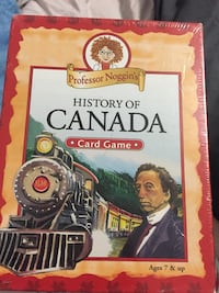 History of Canada card game Vaughan, L6A 4V4