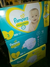 Pampers size 3, 3 boxes (168 count/each). Normally $48.72 each@walmart China Grove, 28023