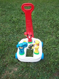 Fisher-Price Band Wagon Push/Pull Toddler Music and Motion Toy