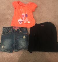 Baby girl size 18 months 7 pieces tags was removed to was clothes  New Carrollton, 20784