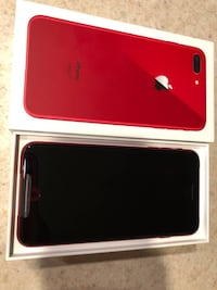perfect condition red iphone 8 plus 64gb unlocked Kelowna