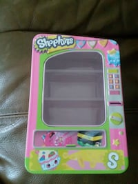 Shopkins vending machine case