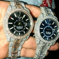 two round silver-colored analog watches Detroit, 48238